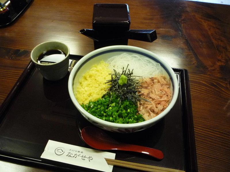 2.手打ち蕎麦 ながせや5 (ぶっかけ)