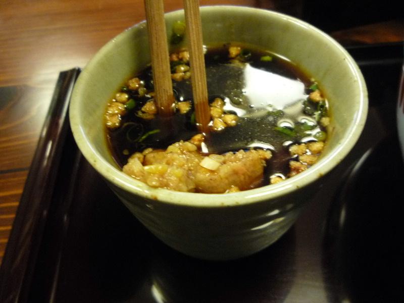 2.手打ち蕎麦 ながせや8 (つゆ)