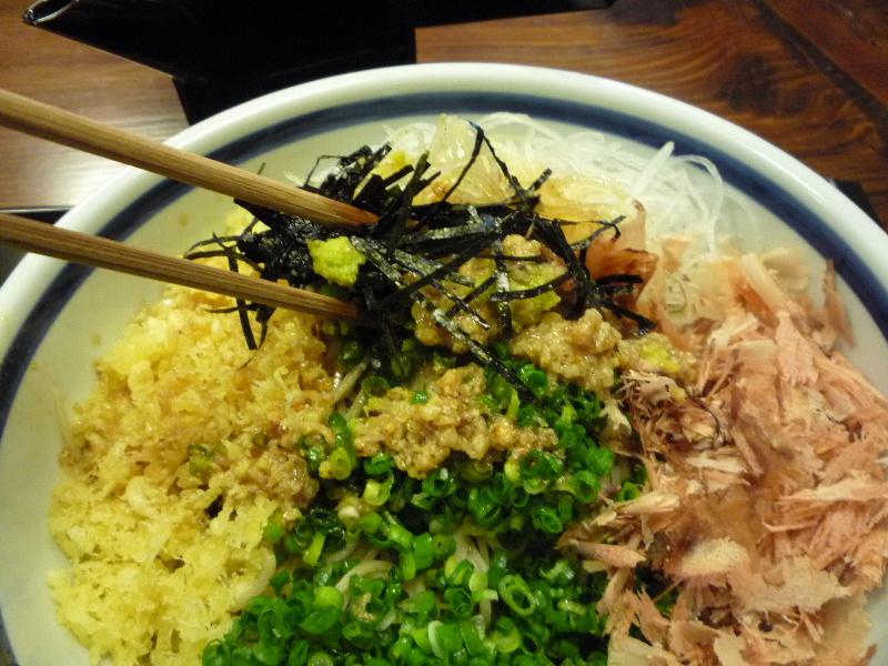 2.手打ち蕎麦 ながせや11 (ぶっかけ)