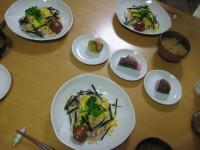 ひな祭りの夕飯