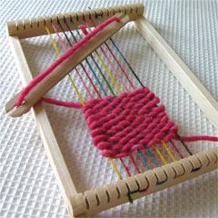 角型織り機