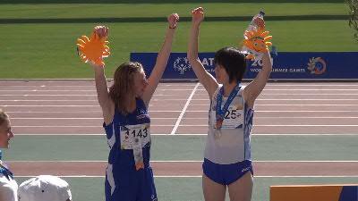 アテネ1500m表彰式