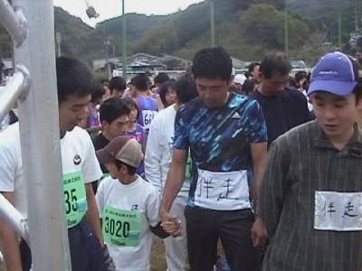 ひだか茂平マラソン3キロ