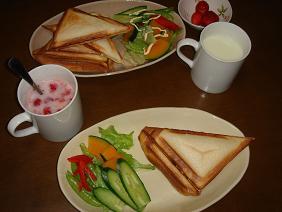 090409朝ご飯