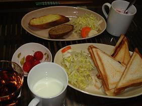 090421朝ご飯