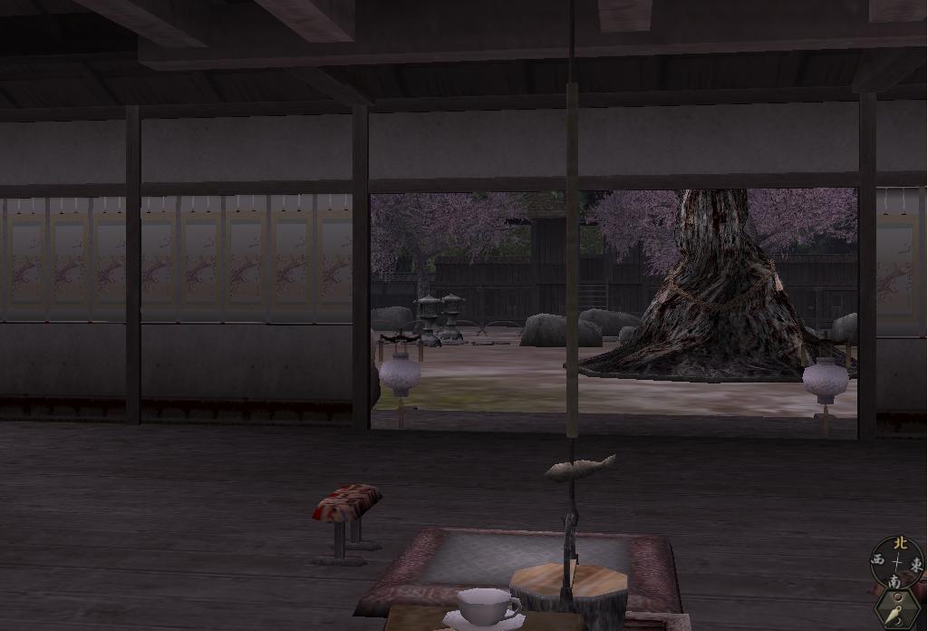 大和絵桜掛物2
