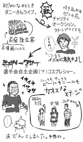 ライブ&選手会
