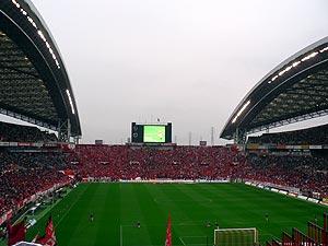 天気と結果が比例するスタジアム(鹿島視点)