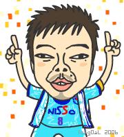 城彰二選手@横浜FC