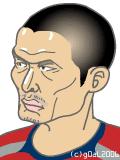#2 名良橋晃選手