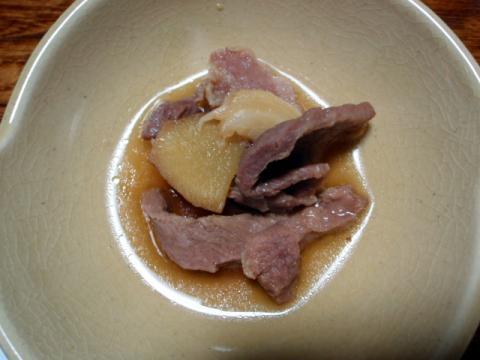 しし肉の煮込み