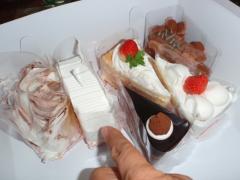 シェ・レカミエのケーキ