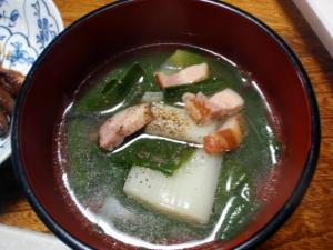 ネギの中華スープ