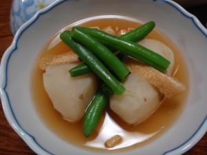 菊芋と薄揚げのサッと煮
