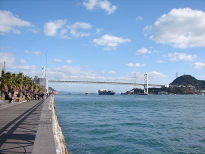 10:45関門海峡
