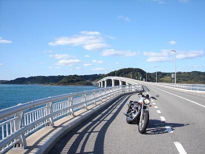 12:23角島大橋