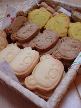 リラックマ達のクッキー