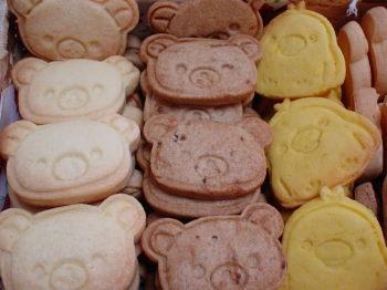 リラックマ達のクッキー2