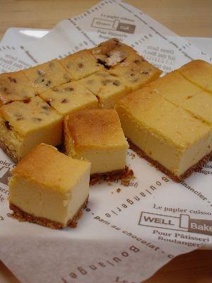 スクエアチーズケーキ*レシピ付き