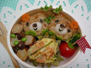 くまのこちゃんのお弁当