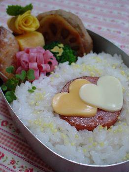 バレンタイン*日の丸弁当~?