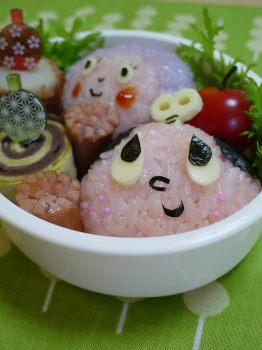 ぜんまいざむらい&ずきんちゃんのお弁当