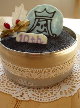 嵐10周年バースデーケーキ