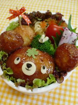 くまちゃんのお弁当