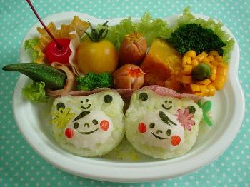 カエルchanになってみたよ~!のお弁当