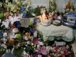 アンリー誕生日の祭壇