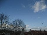 オランダの青空