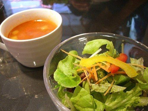 スープ ・ サラダ
