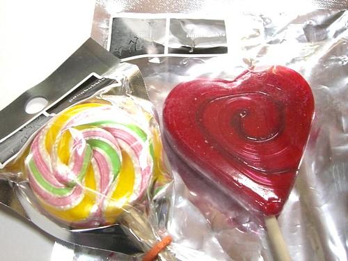 キャンディー(コーラ)・ハートキャンディー(ストロベリー)