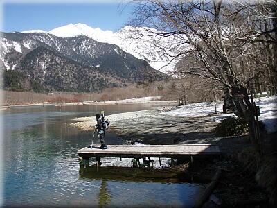 P408大正池湖畔