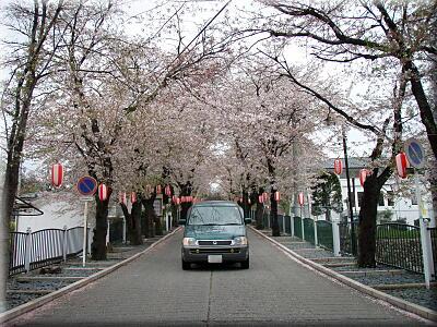 P415桜トンネルとRF2