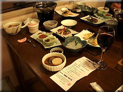 P414やまびこ荘夕飯