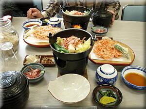 P419昼食は桜海老