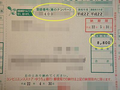P513自動車税