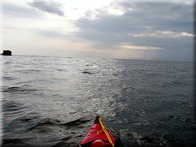 P513夕刻の海へ