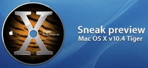 Mac OS X 10.4 Tiger Preview