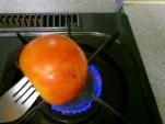 トマトあぶる