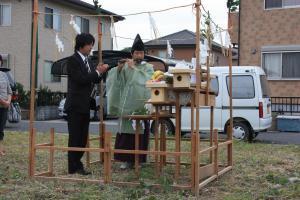 A様邸地鎮祭