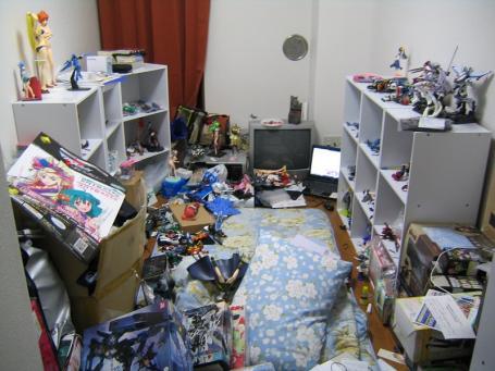 大方俺の部屋