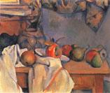 セザンヌ「ザクロと洋梨のあるショウガ壺」