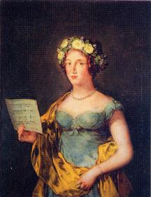 フランシスコ・デ・ゴヤ/アブランテス公爵夫人