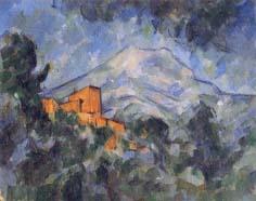 ポール・セザンヌ「サント=ヴィクトワール山とシャトー・ノワール」