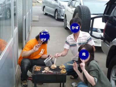 焼きカニ隊
