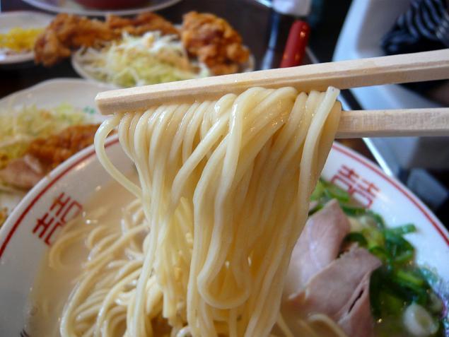 高安中華そば麺