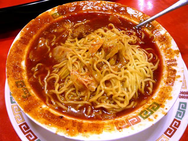 牛肉四川麺