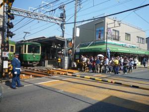 江ノ電で移動P1050208